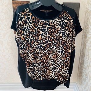 FOREVER 21 | Wild & Cute Animal Print Top